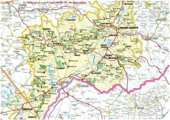 Mapa Slovacke Turisticka Agencija Sajka